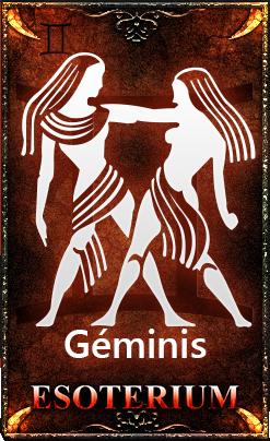Horóscopo Géminis